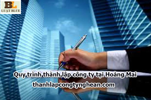 Quy trình thành lập công ty tại Hoàng Mai