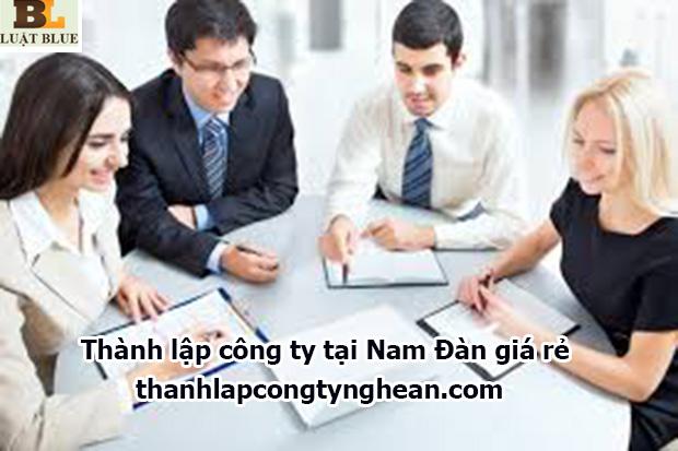 Thành lập công ty tại Nam Đàn