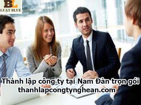 Thành lập công ty tại Nam Đàn trọn gói