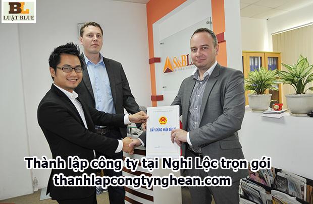 thành lập công ty tại Nghi Lộc trọn gói