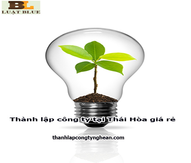 thành lập công ty tại Thái Hòa trọn gói